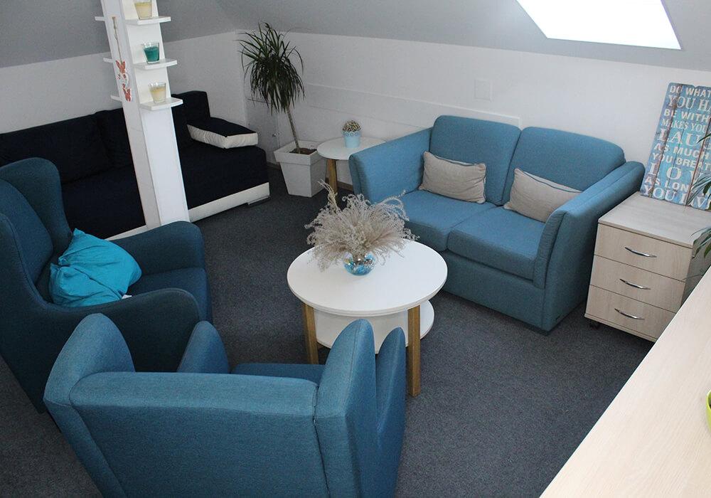 غرفة مقابل العلاج النفسي