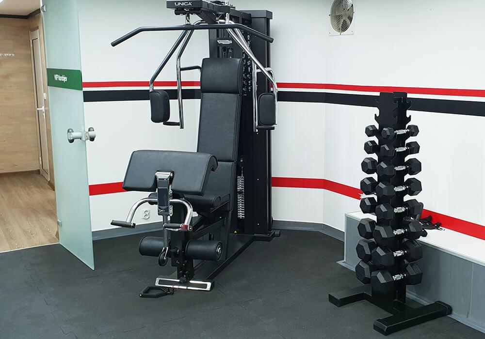 Fitnessstudio Klinik VIP Vorobjev