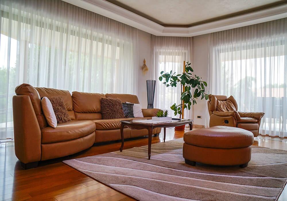 Wohnzimmer in der Klinik VIP Vorobjev