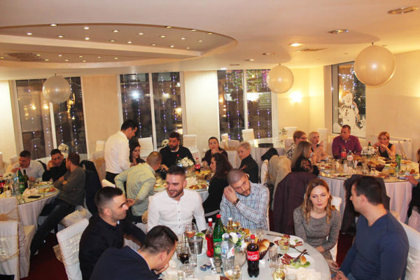 جشن سال نو از کلینیک Dr Vorobjev