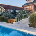 Clinique VIP Vorobjev vue de la piscine