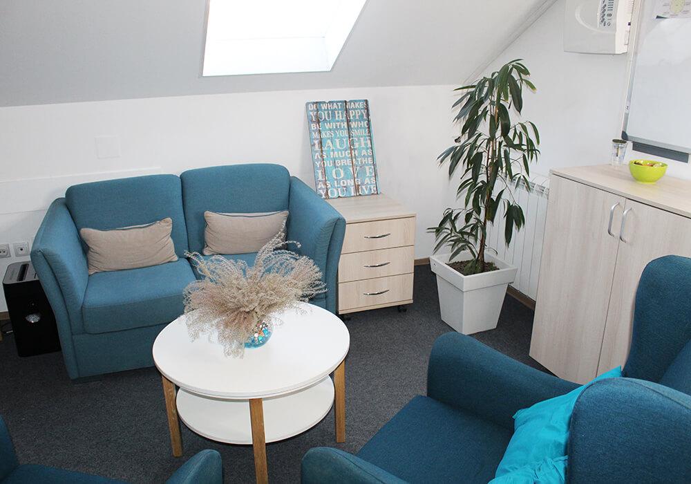 stanza per la clinica di psicoterapia VIP Vorobjev