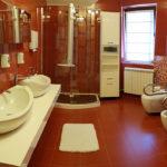 Ванная комната клиники для лечения наркомании vip vorobjev