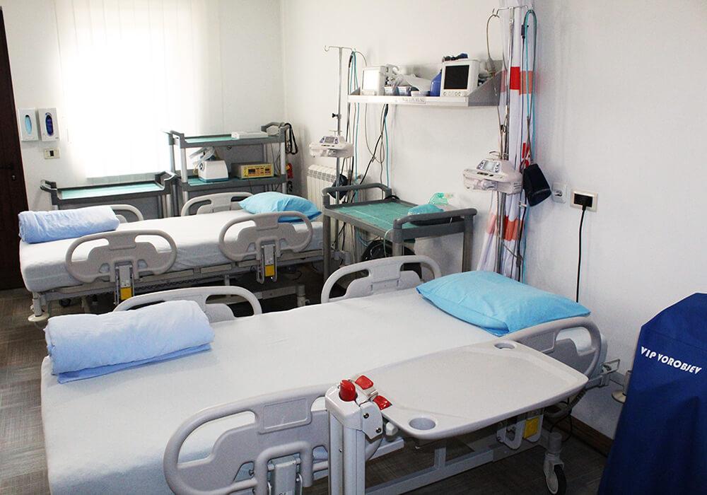 sobe za procedure klinika vip vorobjev