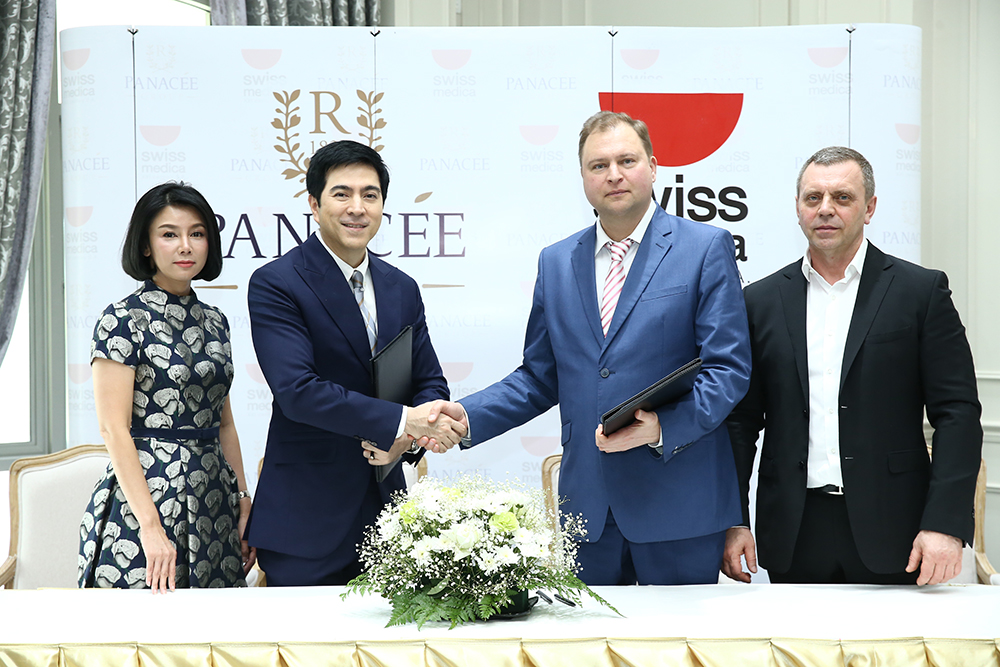 Klinika Vip Vorobjev- Filijala Tajland - potpisivanje ugovora