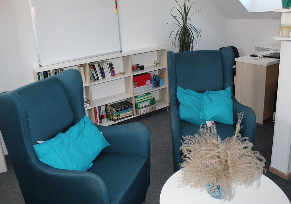 Psihološka soba klinika VIP Vorobjev